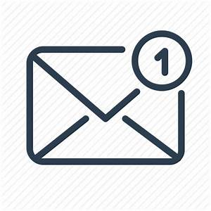 Email  Envelope  Letter  Mail  Message  New  Notification Icon