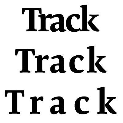 tracking letter spacing typography terms glossary typography spacing in typography zid imperio