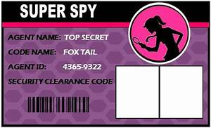 Spy Party Supplies ~ Personalized Secret Agent Birthday ...