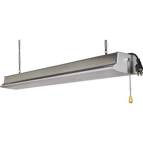 hanging led shop lights elight led shop light 48in 2 500 lumens 36 watts