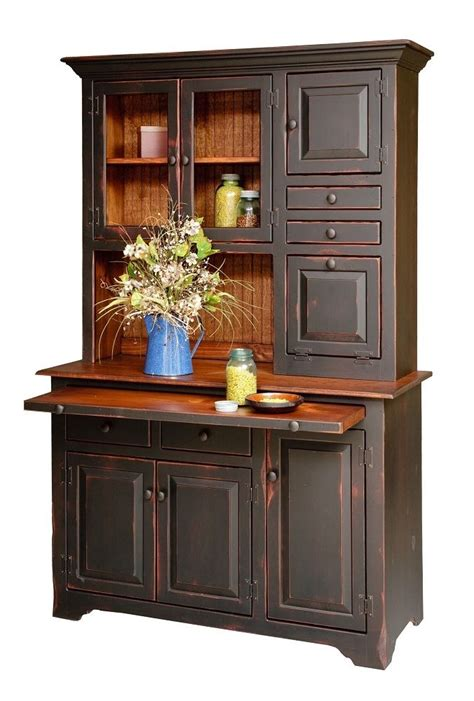 country kitchen hutch primitive furniture hoosier hutch cabinet country farm 2811