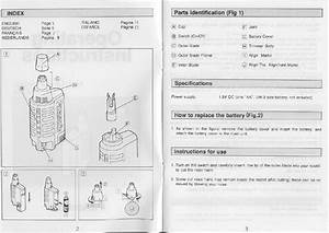 How To Replace The Battery  Fig 2   Instructions For Use