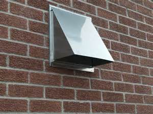 Decorative Outdoor Vent Covers by Quality Stainless Range Hood Wall Vent