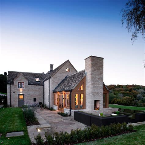 european house plans one modern cotswold farmhouse andy marshall architectural