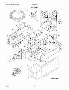 Ice Maker Diagram  U0026 Parts List For Model Ei28bs56is0