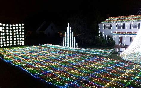 cranbury christmas lights iron blog