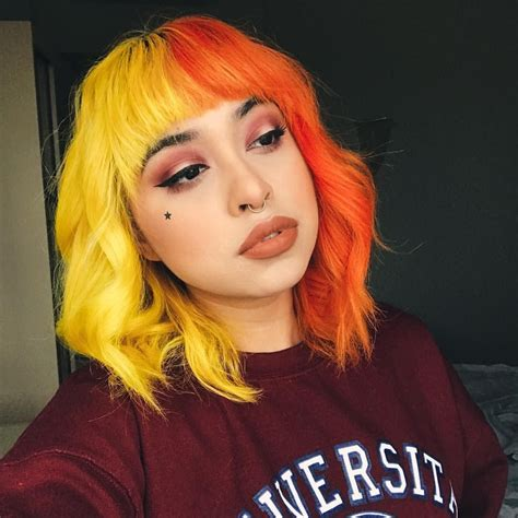 Feel free to ask my any questions in the comments. Pin by HannahBelle on ♡Hair dye inspo♡ | Hair color orange ...