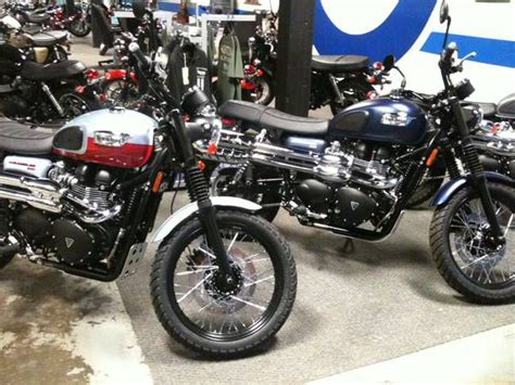 Buy 2014 Triumph Scrambler {{{ On 2040-motos