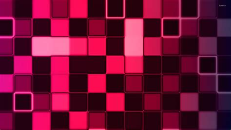 Cube Background Pink Cube Wall Wallpaper Abstract Wallpapers 29841