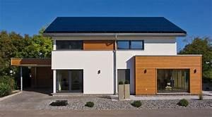 Modernes Haus Mit Satteldach : modernes einfamilienhaus mit satteldach fertighaus weiss pinterest haus chang 39 e 3 and photos ~ Orissabook.com Haus und Dekorationen