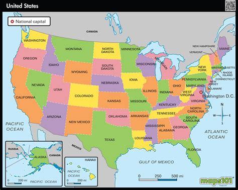 primary level united states political map mapscom