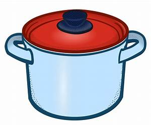 Clipart - cooking pot - coloured