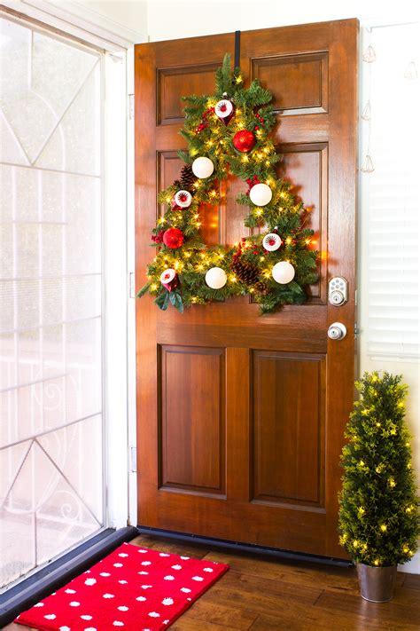 diy tree shaped wreath sarah hearts