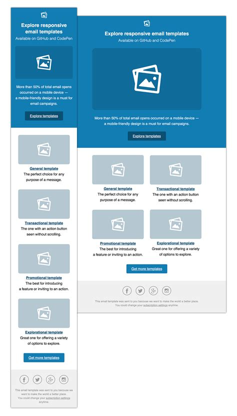 responsive html email template  sketch app resource