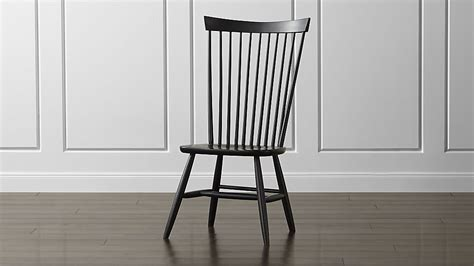 marlow ii wood dining chair crate and barrel