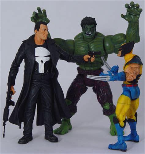 marvel select punisher action figure pictures rtm spotlight