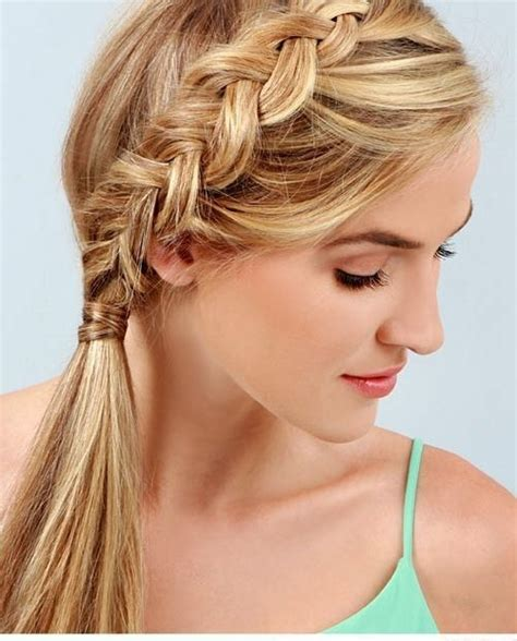 cute braided ponytail styles crazyforus