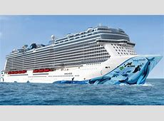 Norwegian Bliss Itinerary Schedule, Current Position