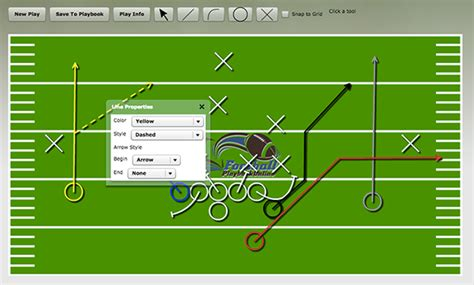 football play diagram software   football play