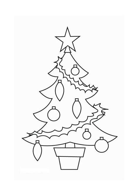 disegno da colorare albero  natale cat