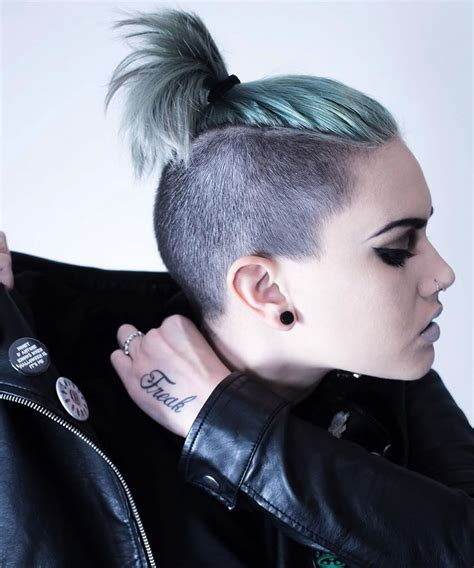 30 glowing undercut short hairstyles for women page 3