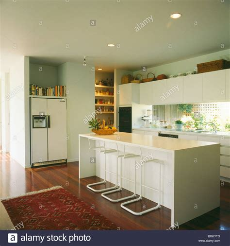 White Stools At Breakfast Bar On Island Unit In Modern. Kitchen Cart Drop Leaf. Kitchen Tiles Vintage. My Little Kitchen Fairies Uk. Diy Kitchen Trolley. B&q Kitchen Paint Dulux. Kitchen Lighting High End. Little Kitchen Of Bala Philadelphia. Kitchen Red Cabinets