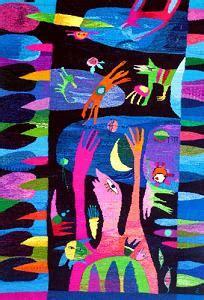 Tekstilmākslas paraugs — uzdevums. Vizuālā māksla, 9. klase.
