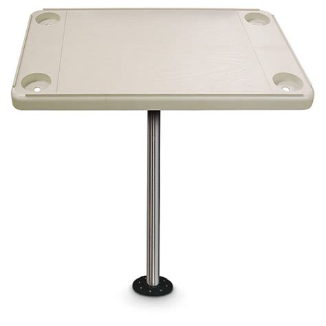 Boat Accessories Table by Marine Table Kit Ivory 222542 Pontoon Accessories At