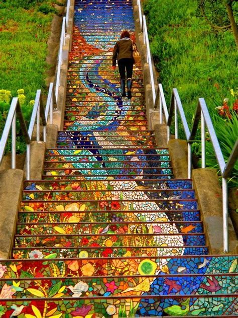 san francisco s secret mosaic staircase my modern met
