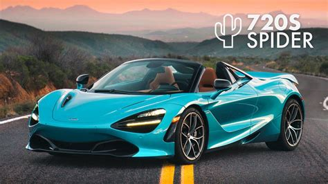 Review Mclaren 720s Spider by Mclaren 720s Spider Road Review Carfection 4k