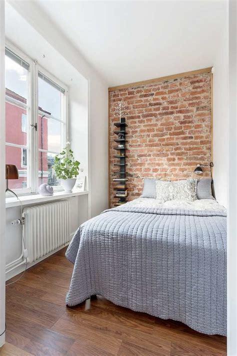 Kleine Schlafzimmer Einrichten by Wand Hinter Dem Bett Interessant Gestalten Kleine