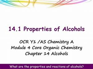Alcohols And Halogenoalkanes Revision By