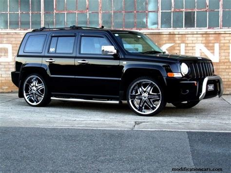Modified Jeep Patriot Chrome Wheels Modification Of Cars