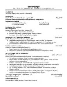 College Coursework On Resume by Resume Relevant Coursework Resume Template 2017