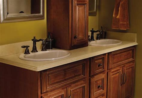 Countertop Bathroom Cabinet by Custom Kitchen And Bathroom Countertops