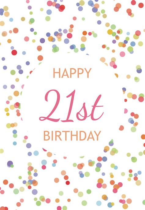 st birthday confetti  birthday card  island