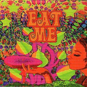 EAT ME perforated sheet book BLOTTER ART psychedelic acid ...