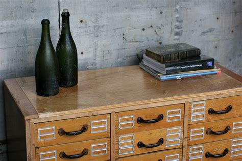 industrieel vintage ladekast dressoirtje
