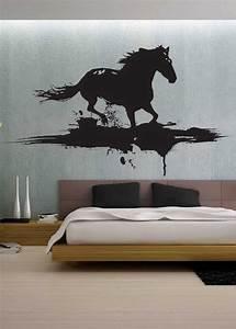 Modern horse uber decals wall decal vinyl decor art by