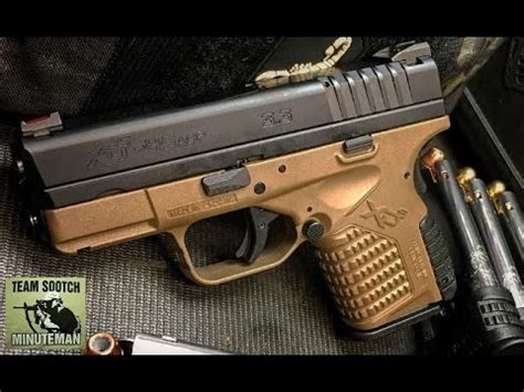 Springfield Xds 45 Acp Review  Small Powerhouse! Youtube