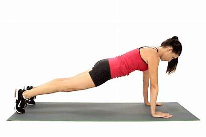 Plank Step Exercise Planking Technique Workout Planks