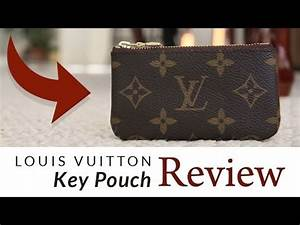 Louis Vuitton Key Pouch Review - YouTube