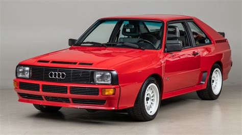 try not to drool over this 1986 audi sport quattro for sale