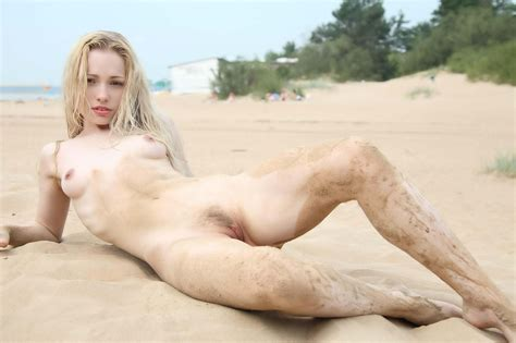 Olya In Gallery Olya Hot Flat Blonde Posing Nude On The Beach Picture Uploaded By