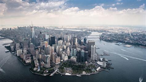 Wallpaper For Ipad Hd Manhattan Skyscraper Scenery New Yor Wallpaper 17404