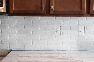 Faux Brick Backsplash For Color And Character SAVARY Homes