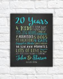 20th wedding anniversary gifts 17 best ideas about parents anniversary on 25th anniversary golden anniversary and