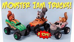 Monster Jam McDonalds Happy Meal Trucks 8 Toys Collection ...