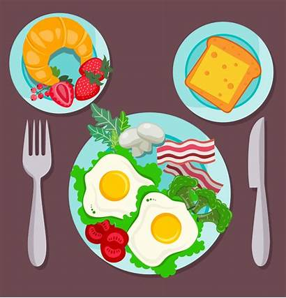 Breakfast Clipart Easy Court Canteen Beverage Solution