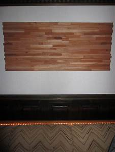 Modern Wood Wall Covering With Simple Wooden Covering Of ...
